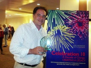 Family law attorney Kevin Chroman of Family Divorce Solutions of San Fernando Valley is the 2015 Eureka Award Winner.