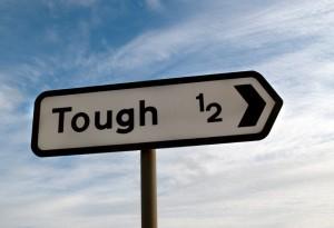 tough sign