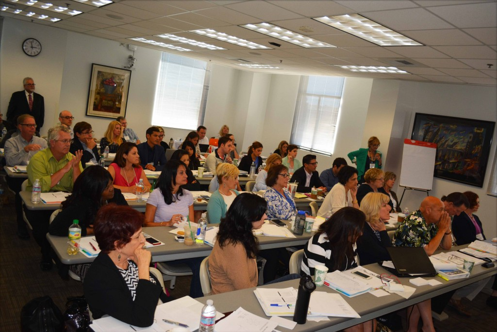 Forty-five participants including five Loyola Law School students attended the recent Collaborative Practice training, organized by Family Divorce Solutions member Stephanie Maloney.